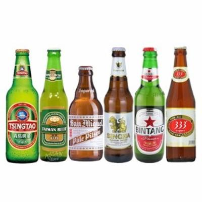 母の日 ギフト 飲み比べ 送料無料 おすすめ海外ビールセット アジア編 6本セット クラフトビール