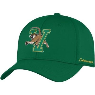 メンズ スポーツリーグ アメリカ大学スポーツ Top of the World Men's Vermont Catamounts Green Phenom 1Fit Flex Hat 帽子