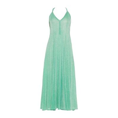 ミッソーニ MISSONI 7分丈ワンピース・ドレス グリーン 44 金属繊維 52% / ナイロン 48% 7分丈ワンピース・ドレス