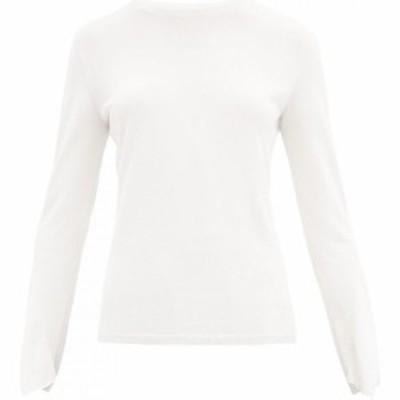 マックスマーラ Max Mara レディース ニット・セーター トップス Arabba sweater White