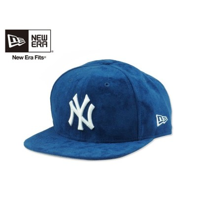☆NEWERA【ニューエラ】9FIFTY NEWYORK YANKEES SUEDE ROYAL ニューヨーク ヤンキース スエード ロイヤル 14414 [メンズ レディース]