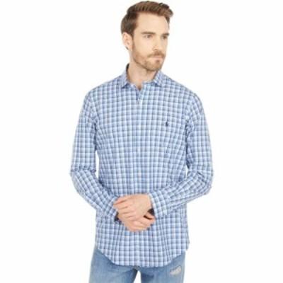 ラルフ ローレン Polo Ralph Lauren メンズ シャツ トップス Classic Fit Plaid Poplin Shirt Blue/White