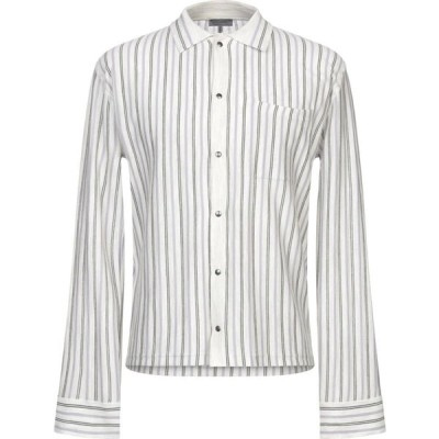 ランバン LANVIN メンズ シャツ トップス striped shirt Light grey