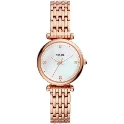 FOSSIL[フォッシル] es4429 CARLIE MINI ROSEGOLD Stainless ローズゴールド ステンレス アナログ レディース 腕時計