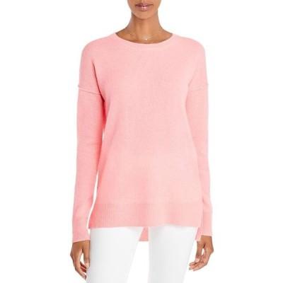 アクア レディース ニット・セーター アウター High Low Cashmere Sweater - 100% Exclusive