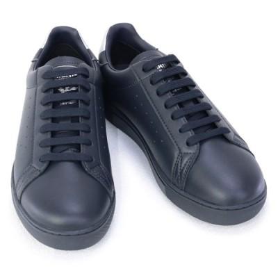 エンポリオアルマーニ EMPORIO ARMANI 靴 メンズ スニーカー ネイビー×シルバー(X4X316 XM500 N026 BLU NAVY+OLD SILVER) 2020年秋冬新作