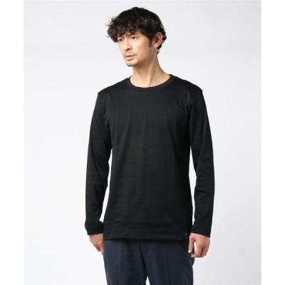 tシャツ Tシャツ V::ROOM BLACK(ヴィルーム ブラック) LS Crew Tシャツ