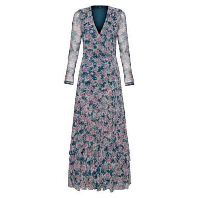 エーエフアールエム レディース ワンピース トップス Romano Print Long Sleeve Wrap Dress BLUSH BOUQUET