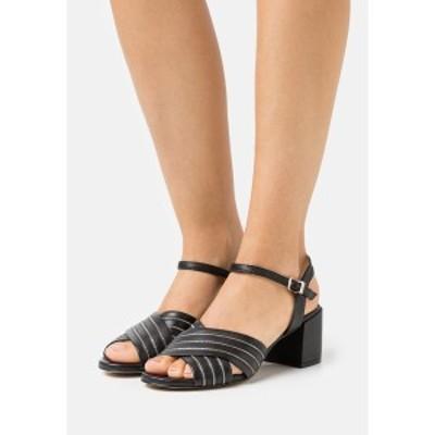 シュテフェン スクラウト レディース サンダル シューズ SLIM CHAIN AVE - Sandals - black black