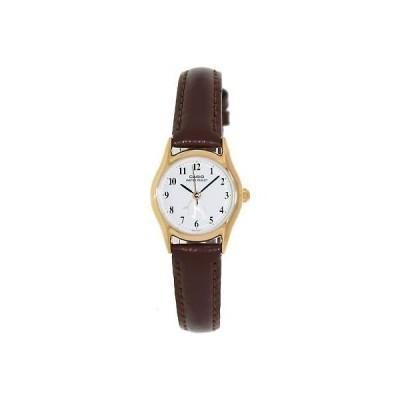 腕時計 カシオ Casio Women's Core LTP1094Q-7B6 Beige Leather Japanese Quartz Fashion Watch