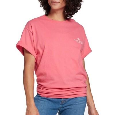 シンプリーサウザーン シャツ トップス レディース Simply Southern Women's Simply Short Sleeve T-Shirt Begonia