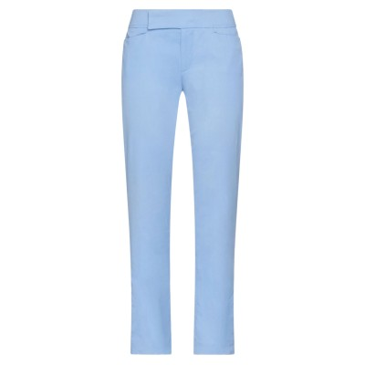 STRENESSE BLUE パンツ アジュールブルー 34 コットン 98% / ポリウレタン 2% パンツ