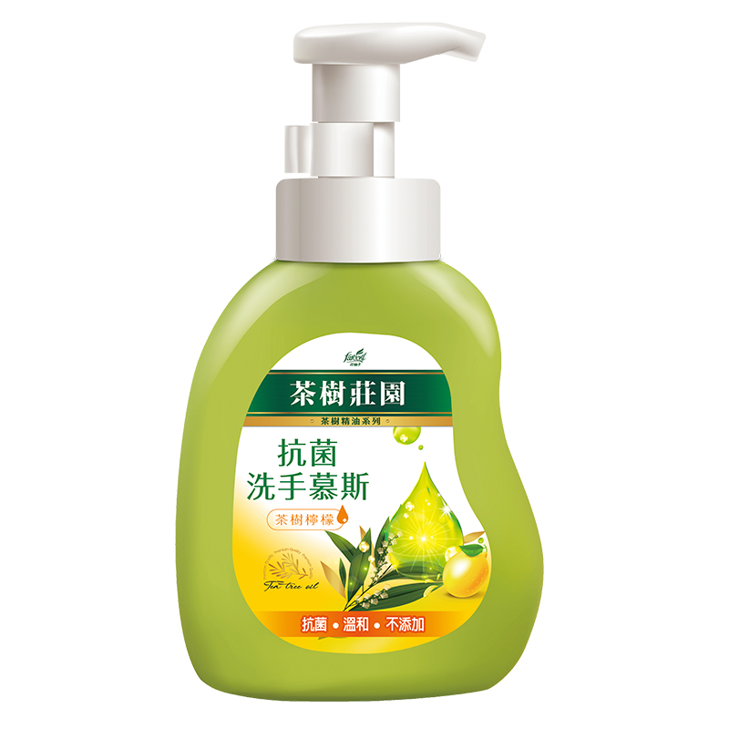 茶樹莊園-茶樹檸檬抗菌洗手慕斯