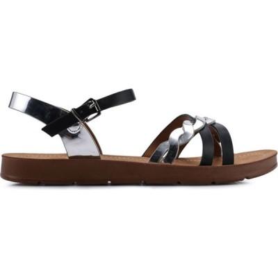 ディバイン ファクトリー Divine Factory レディース サンダル・ミュール シューズ・靴 Ruchi Sandals Noir