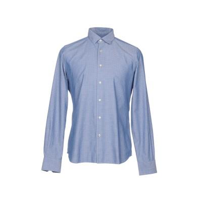 LIU •JO MAN シャツ パステルブルー 38 コットン 100% シャツ
