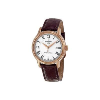 腕時計 Tissot T-クラシック Carson オートマチック ローズ-Tone メンズ 腕時計 T0854073601300
