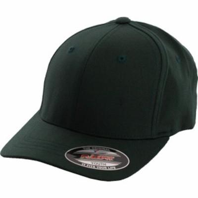 フレックスフィット Flexfit ユニセックス キャップ 帽子 - Wooly Combed Youth Spruce - Cap green