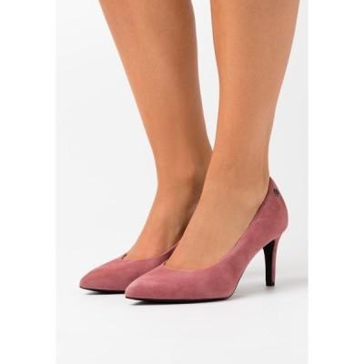 エス オリバー ブラック ラベル ヒール レディース シューズ COURT SHOE - Classic heels - dark mauve