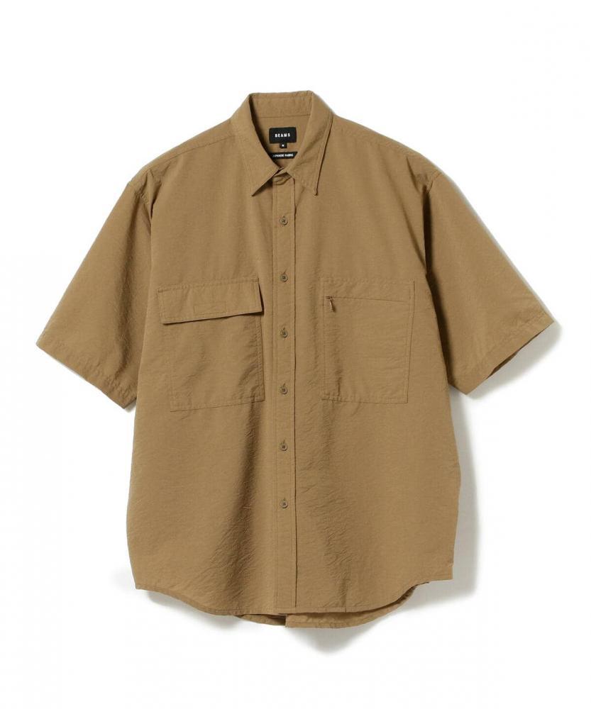 BEAMS / 男裝 多功能 寬鬆 短袖 襯衫