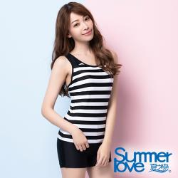 夏之戀SUMMERLOVE 大女長版二件式泳裝S20701