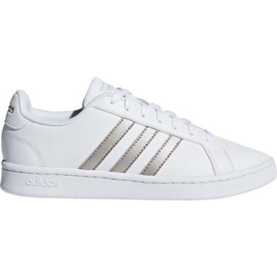 アディダス adidas レディース シューズ・靴 Grand Court Shoes White/Silver