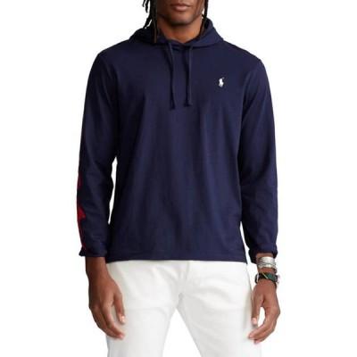 ラルフローレン メンズ パーカー・スウェット アウター Logo Jersey Hooded T-Shirt