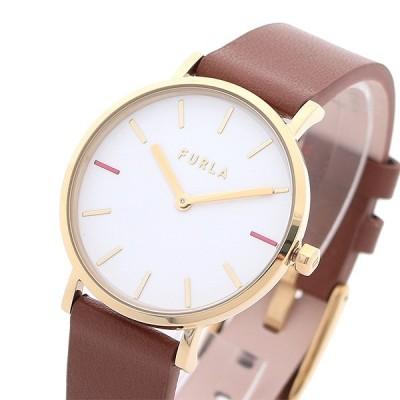フルラ FURLA 腕時計 R4251108547 レディース ジャーダ GIADA クォーツ ホワイト ブラウン