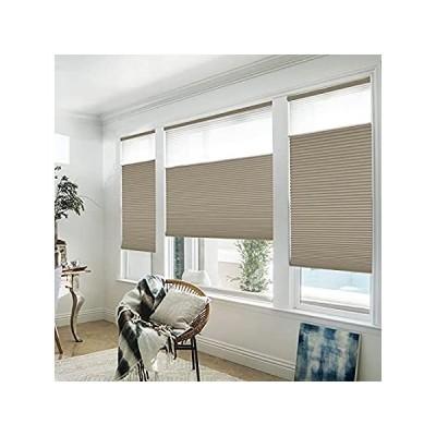 特別価格Manual Cordless Day and Night Cellular Shades Full Blackout Fabric Window S好評販売中