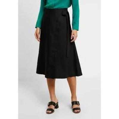 Noa Noa レディーススカート Noa Noa BASIC - Wrap skirt - black black