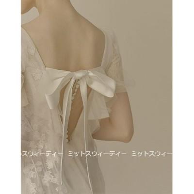 ウェディングドレス 二次会 白 花嫁 Aラインドレス 海外挙式 パーティードレス 披露宴 ブライダル 結婚式 ロングドレス 演奏会 上品 クラシック 大きいサイズ