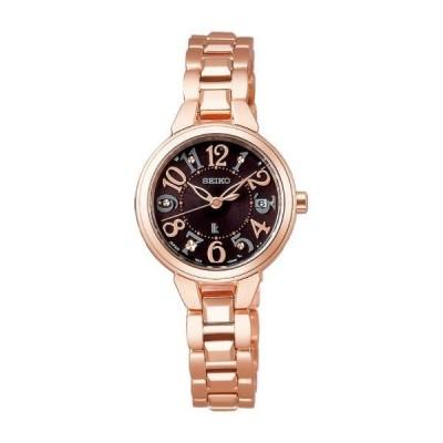 「P2倍 10/25 23:59まで」SEIKO 腕時計 レディース LUKIA SSVW190 ルキア