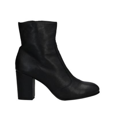 LEMARE ショートブーツ ファッション  レディースファッション  レディースシューズ  ブーツ  その他ブーツ ブラック