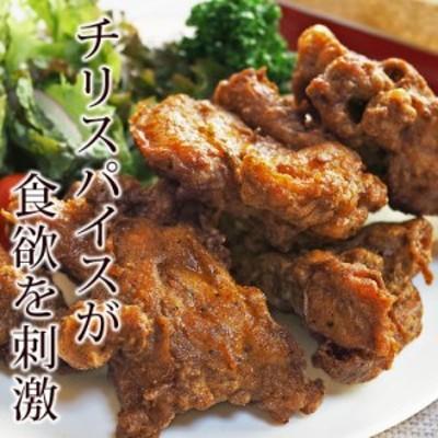 唐揚げ 丸鶏 フリット スパイシー味 半羽(約550g) フライドチキン 惣菜 おかず パーティー 肉 ギフト 生 チルド