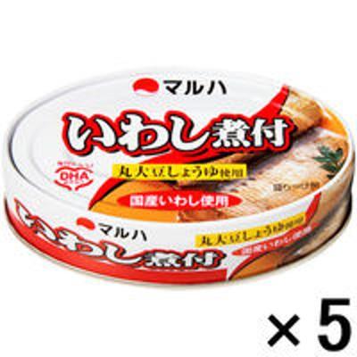 マルハニチロマルハニチロ マルハ いわし煮付 100g 1セット(5個)