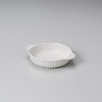 (萬古焼)乳白丸グラタン(小) ス598-327