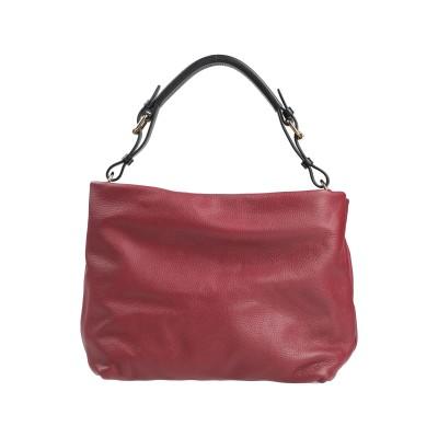 マルニ MARNI ハンドバッグ ボルドー 牛革 95% / 真鍮/ブラス 5% ハンドバッグ