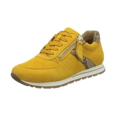 Gabor Women's Low-Top Sneakers_46.369.22, Yellow Mango Camel 22, 12【並行輸入品】