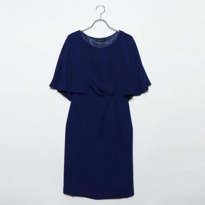 ジュネビビアン Genet Vivien ワンピースドレス (ブルー)