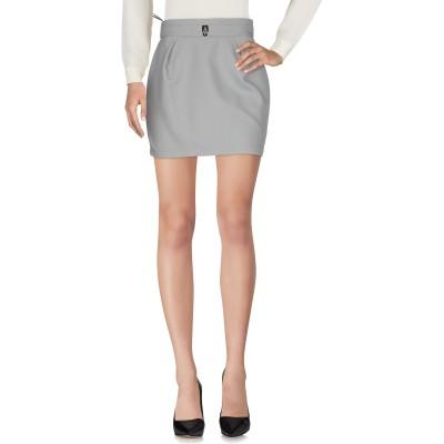 ELISABETTA FRANCHI 24 ORE ひざ丈スカート グレー 42 ナイロン 78% / ポリエステル 22% ひざ丈スカート