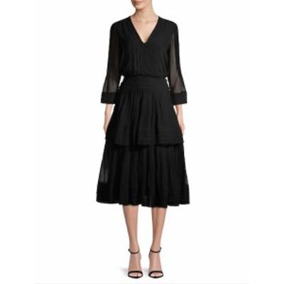 キャロライナヘレラ レディース ワンピース Silk Midi Dress