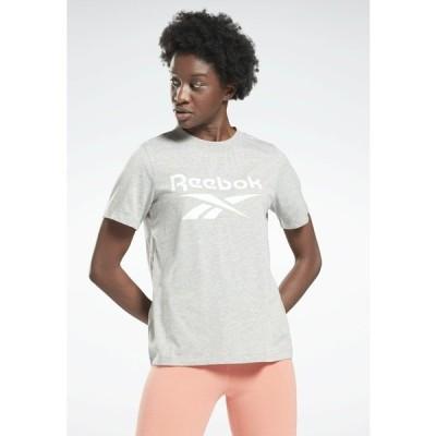 リーボック Tシャツ レディース トップス Print T-shirt - grey