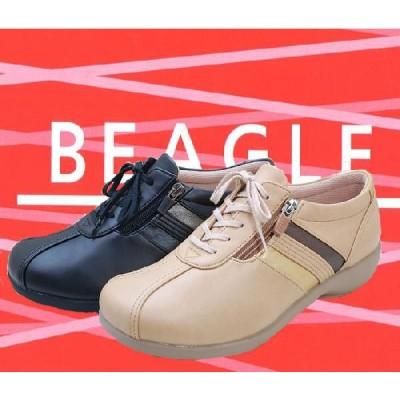 レディースコンフォートシューズ    ビーグルBEAGLE-T505