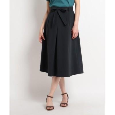 【スーナウーナ】 ウエストリボンスカート レディース ネイビー 36(S) SunaUna