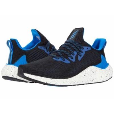 アディダス メンズ スニーカー シューズ alphaboost Core Black/Glory Blue/Footwear White