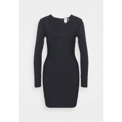 エルベ レジェ ワンピース レディース トップス DRESS - Shift dress - black