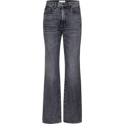 シルバーレーク Slvrlake レディース ジーンズ・デニム ボトムス・パンツ London high-rise straight-leg jeans Many Moons