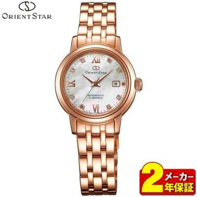 ポイント最大8倍 ORIENTSTAR オリエントスター 機械式 メカ 自動巻き 手巻き WZ0451NR ピンクゴールド 腕時計時計レディース 国内正規品