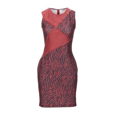 リュー ジョー LIU •JO ミニワンピース&ドレス 赤茶色 S ポリエステル 95% / ポリウレタン 5% ミニワンピース&ドレス