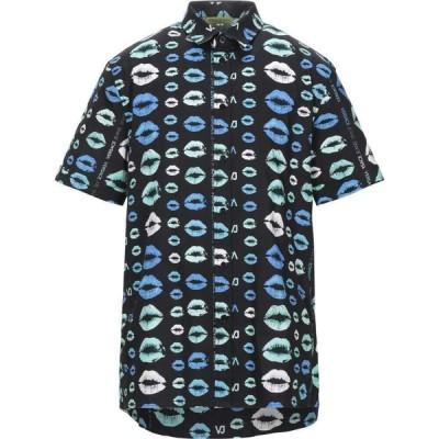 ヴェルサーチ VERSACE JEANS メンズ シャツ トップス Patterned Shirt Black