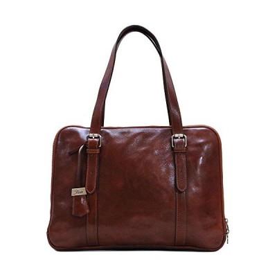 Floto Salerno Women's Leather Business Shoulder Bag Briefcase Messenger Bag【並行輸入品】